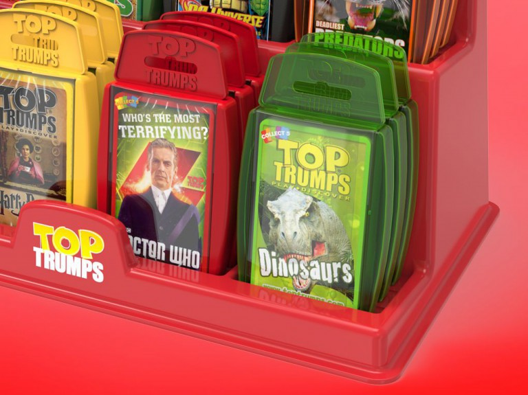 Top Trumps Display Units